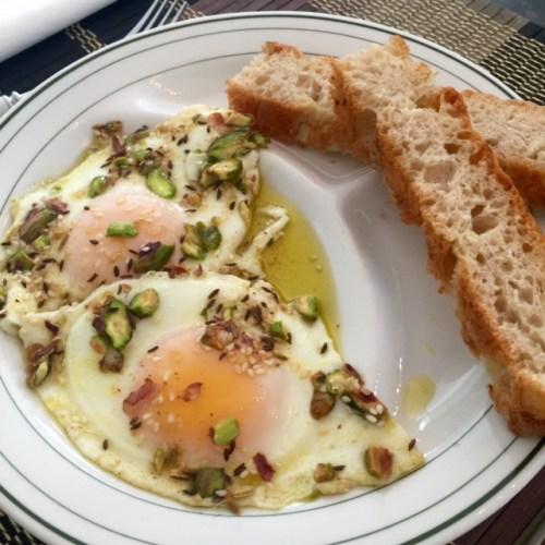 Eggs with Dukkah
