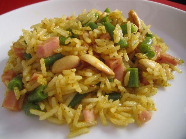 riso freddo al curry