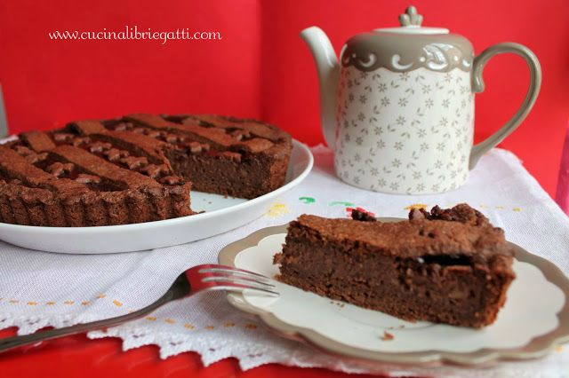 ricetta crostata di cioccolato fondente