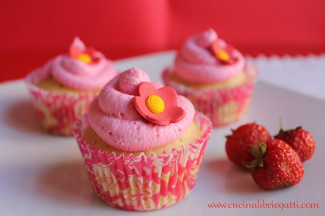 cupcake alle fragole