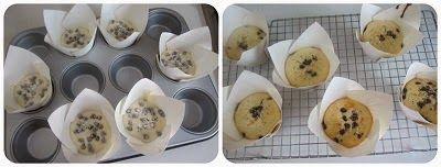 cottura dei muffin