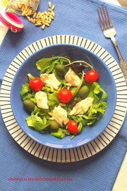 ricetta insalata di merluzzo