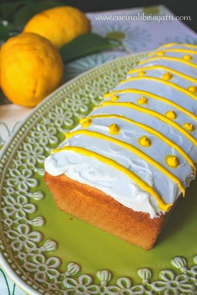Plumcake di semolino e limone