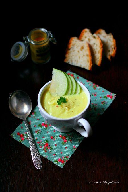 crema cavolfiore mela verde