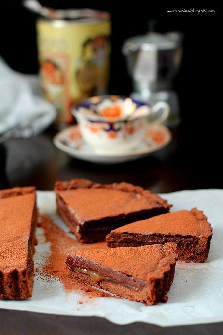 crostata cioccolato caramello