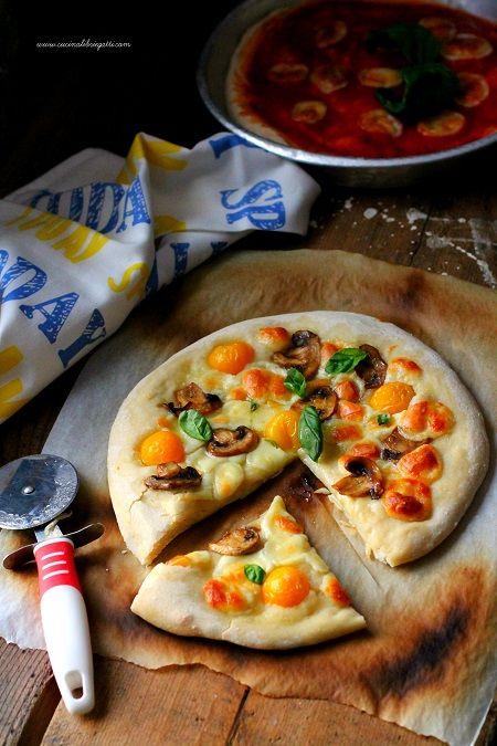 impasto pizza lunga lievitazione 24 ore
