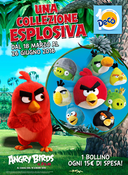 Collezione Angry Birds