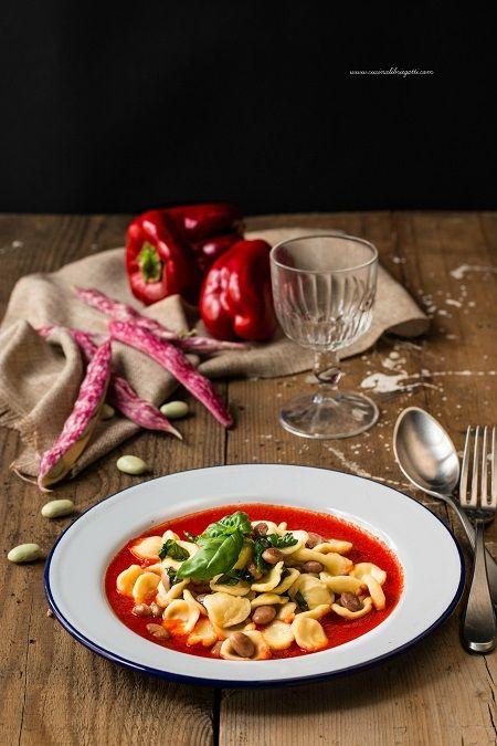 pasta e fagioli basilico