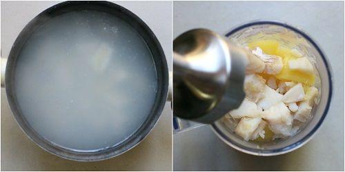 Tortelloni di baccalà con fonduta di burrata e pomodori confit