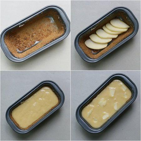 Plumcake yogurt mele e cioccolato bianco