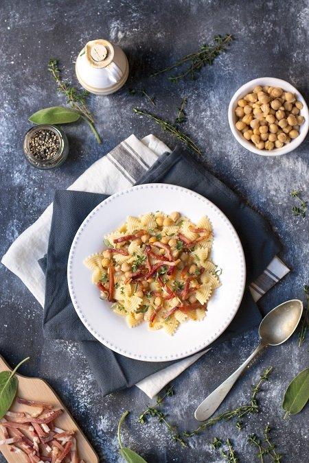 ricetta pasta speck