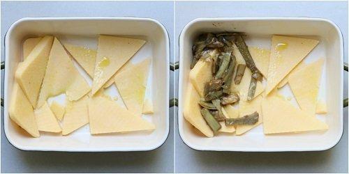 preparazione della polenta pasticciata