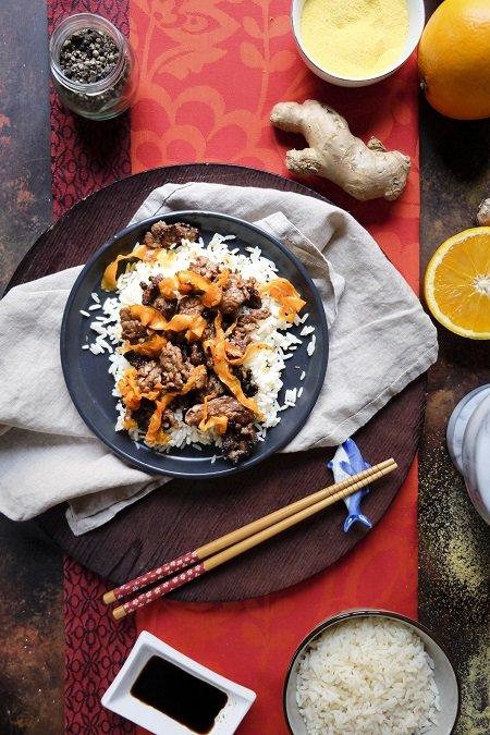 manzo croccante cinese