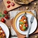 melanzane ripiene di pasta