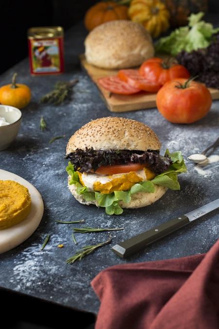 burger di zucca