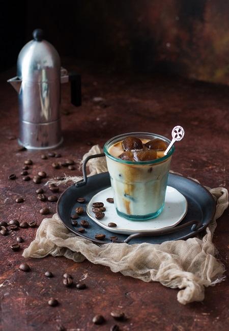 caffè leccese con latte di mandorla