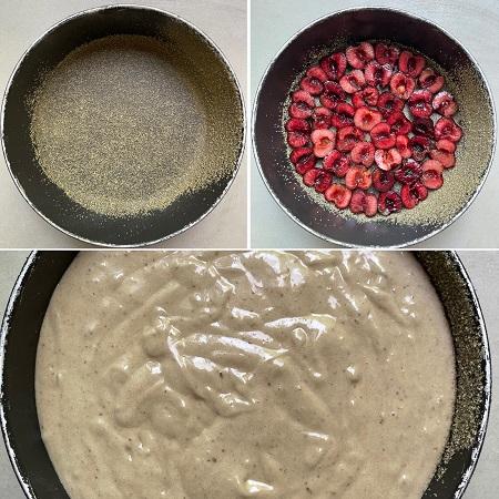 come fare la torta di ciliegie