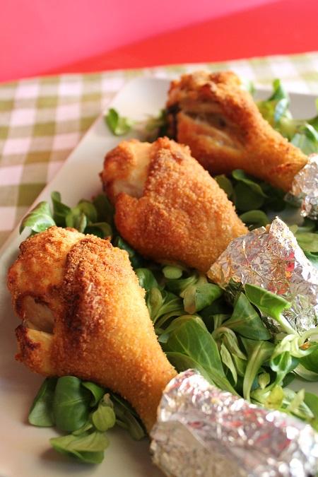 cosce di pollo impanate