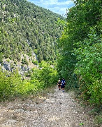 sentiero delle scalelle