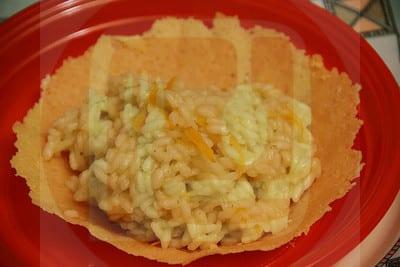 Risotto all arancia su cestino di parmigiano ricette di - Ricette cucina on line ...