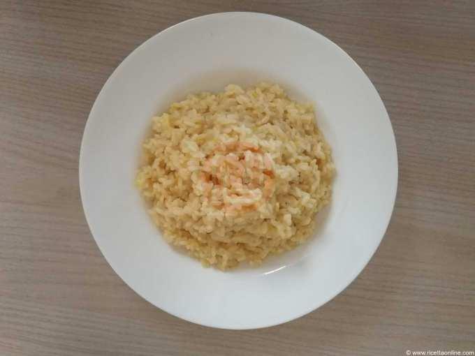 risotto arancia e brancaleone