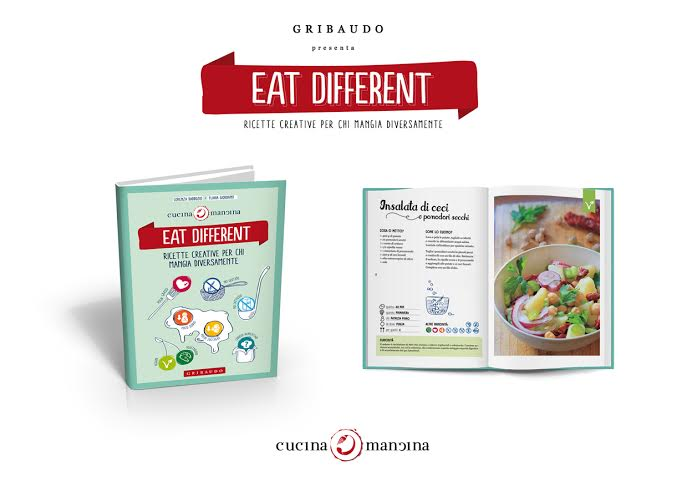 Eat different, ricette creative per chi mangia differente