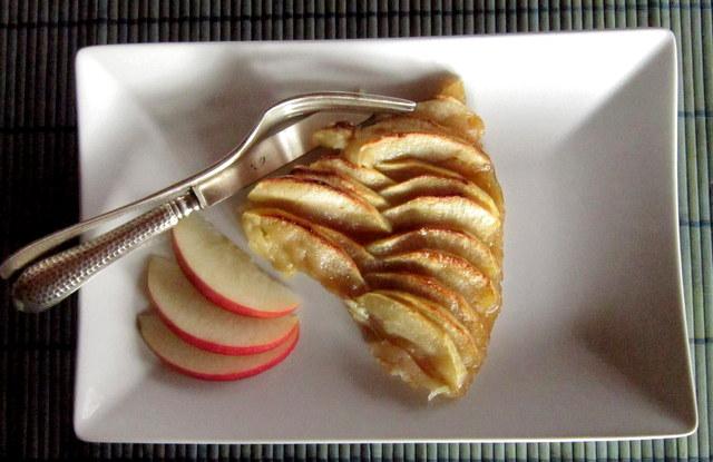 Torta di mele al burro di cocco