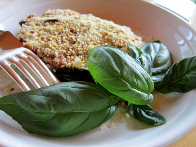 Parmigiana di melanzane, vegan e senza glutine
