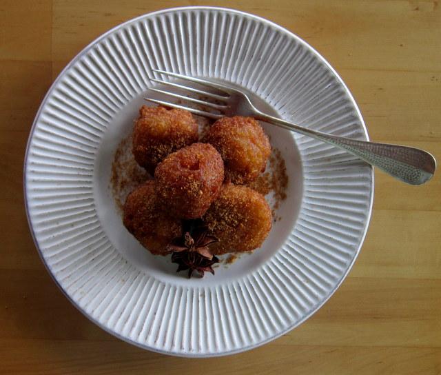 Frittelle di riso, vegan e senza glutine