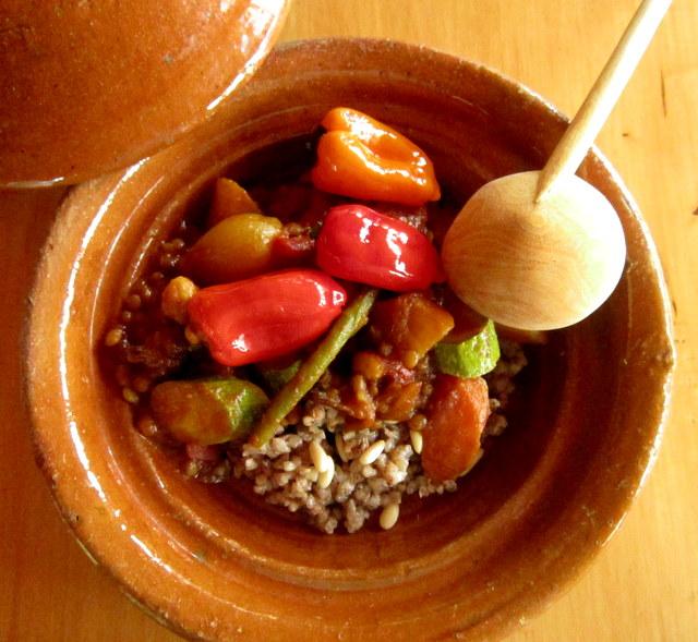 Couscous di grano saraceno, con verdure speziate
