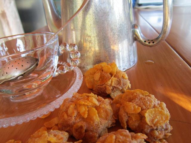 Biscotti ai fiocchi di mais, senza glutine né lattosio