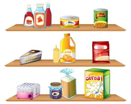 La dispensa di cucina, trucchetti di economia domestica