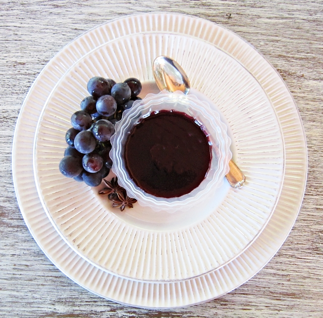 Uva fragola. Gelatina di uva fragola. Un tuffo nella memoria