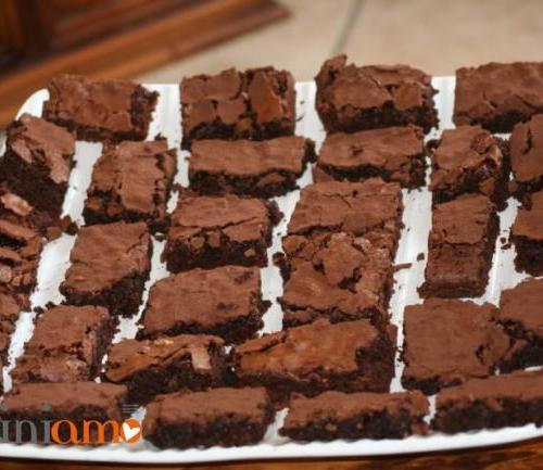 Brownies doppio cioccolato