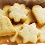Biscotti al burro con glassa