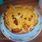 Torta salata di zucca e gorgonzola di Nika
