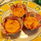 Muffin salati di zucca con uova e senza uova