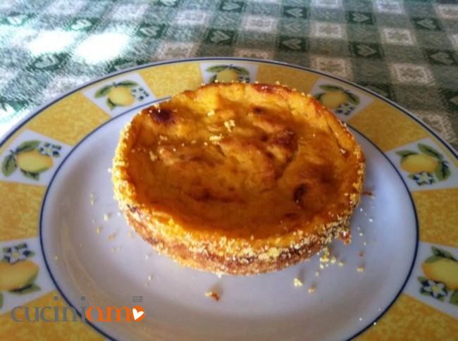 Muffin salati di zucca senza uova