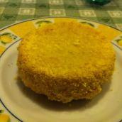 Tortino patate sgombro e polenta (senza uova)