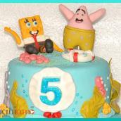 Torta Spongebob e torta Juventus