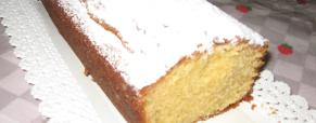 Plum cake al mandarino