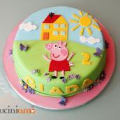 Una torta tutta colorata!