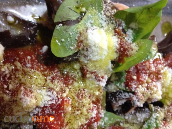Involtini di melanzane al forno
