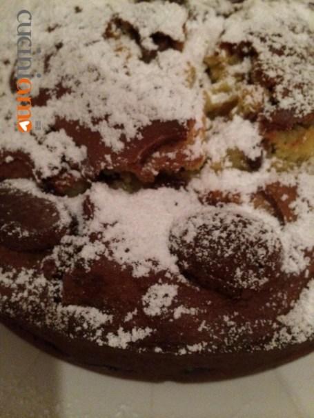 Torta pasquale con ricotta e uova di cioccolato