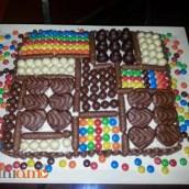 Bon bon cake