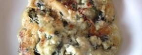 Lasagne di farro con spinaci