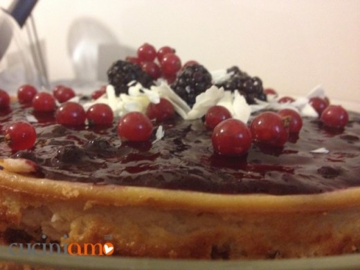 Cheesecake vegan senza glutine
