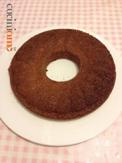 Torta al succo di arancia e cioccolato vegana