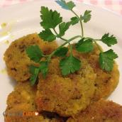 Polpette di tofu, verdure e alga wakame – Tofu meatballs, vegetables and Wakame