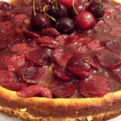 Cherry cheesecake #senzaglutine
